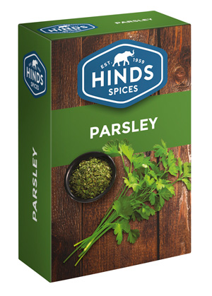 Dried Parsley Herbs Box - Hinds Spices