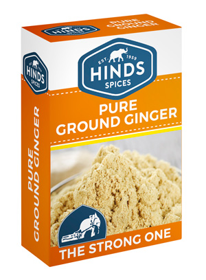 Pure Ground Ginger Box - side Angle