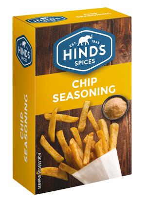 Chip Seasoning Box - Angled view