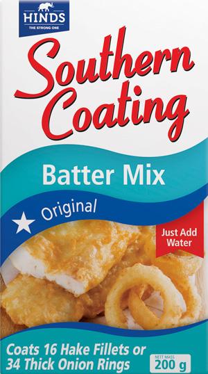 200g Southern Coating Original Batter Mix  -  angled_ Shot