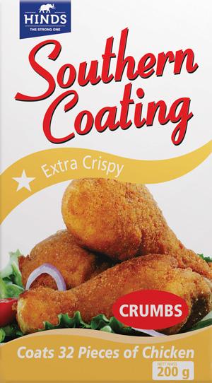 200g Southern Coating Extra Crispy -  angled_ Shot