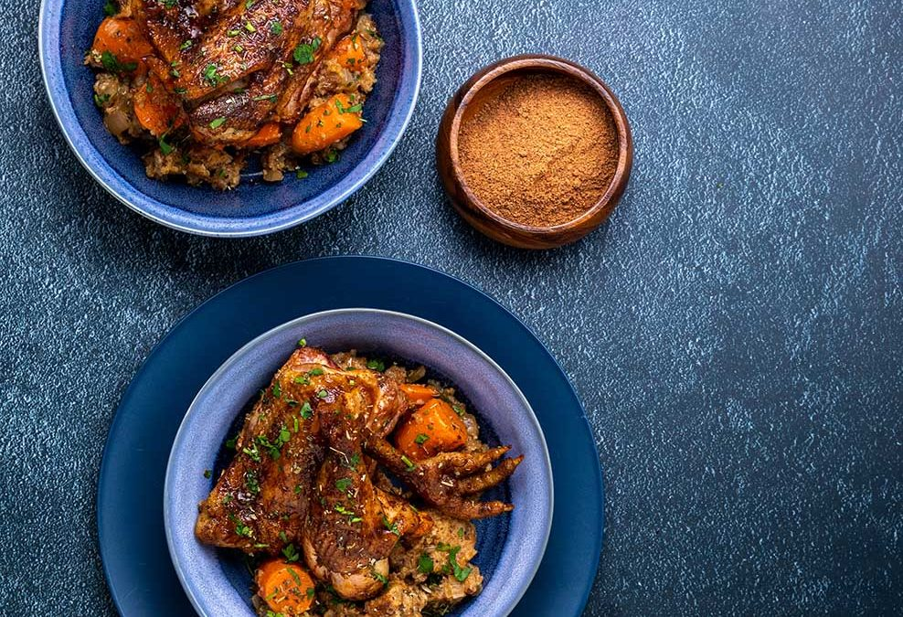 Recipe for Pot-Roasted Chicken