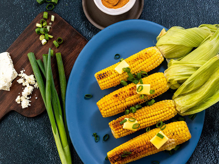 Recipe for Spiced Corn on the Cob