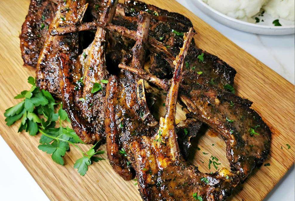 Recipe for Pan Seared Lamb Chops Tshisanyama